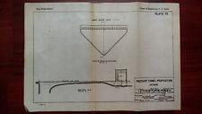 1919 Sketch Diagram Pressure Tunnel Proposition Grass Island Intake Niagara Rivr