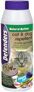 2 x 450g Cat and Dog Repellent Scatter Granules Repeller Deterrent Deter Fouling