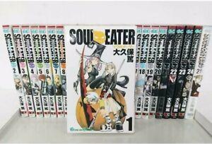 SOUL EATER Vol. 1-25 Complete set Comics Manga