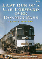 Last Run of a Cab Forward Over Donner Pass DVD Pentrex Southern Pacific Donner