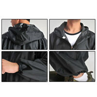 Nuevo para hombre mujer trabajo MOTO Abrigo Impermeable mono traje de lluvia