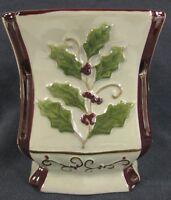 Yankee Candle Tarts Wax Melt Warmer Christmas Holly Mistletoe Cranberry