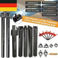 ANKILE Wendeplatten Mit Schaft Drehmaschine Bohrstange Drehwerkzeughalter Set 7tlg 12mm