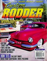 Vtg Custom Rodder Magazine Nov 1998 Taillight Swaps Merc Front Suspension m1184