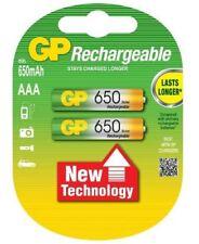 GP 2er Pack Akkus AAA / Micro  NiMH 650 mAh Telefon