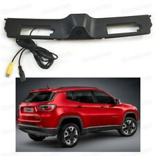 Car CCD Rearview Camera Reverse Parking Replacement for 2017 2018 Jeep Compass