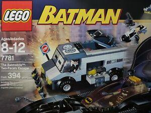 Batman LEGO 7781 The Batmobile: Two-Face's Escape 394pcs *NiSB