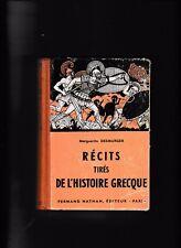 Récits tirés de l'histoire grecque-1956