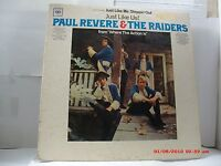 "PAUL REVERE & THE RAIDERS -(LP)- JUST LIKE US!    FEATURING ""JUST LIKE ME""- 1966"