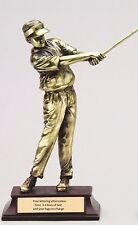 """Male Golf Resin Super Product Sale Item 10 1/2"""" Tall Beautiful Trophy M-Rfg52"""