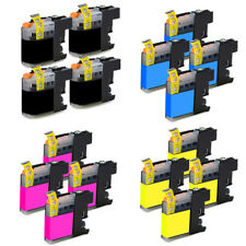 16 Tintas Compatibles Para Brother LC127XL LC125XL Chip
