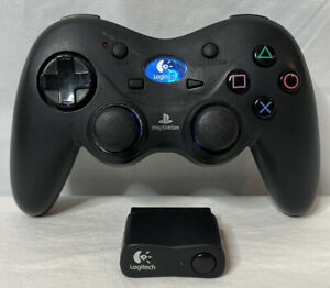 Logitech G-X2D11 PS2 PlayStation 2 Wireless Cordless Action Controller w/ Dongle