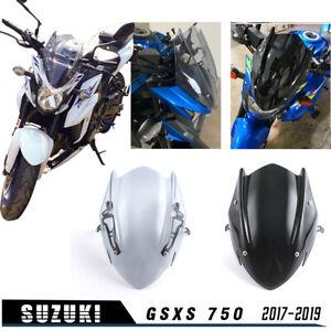 Windshield screen with mounting bracket for suzuki gsx-s 750 2017-2019 18
