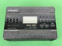 Toshiba KT-4519 Cassette Player w/ Digital Tuner, WALKMAN parts or repair