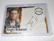 Jericho TV-Show Autograph Trading Card #A6 Brad Beyer as Stanley Richmond