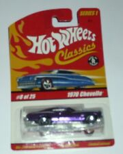 Hot Wheels Classics Metal Die-cast 1970 Chevelle Series 1