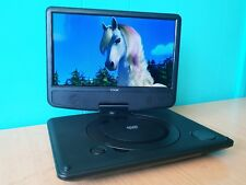 "9"" Portable DVD Player with Rechargeable Battery SD USB Port 9 Inch DVD Player"