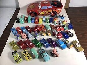 LOT DISNEY PIXAR CARS DIECAST PLASTIC MODELS RC CAR 40+ PCS