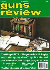 GUNS REVIEW - THREE ISSUES FROM 1994 (7 - 9)