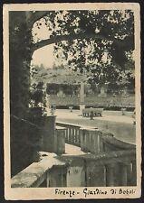 AD1855 Firenze - Città - Giardino di Boboli