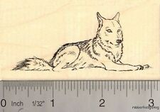 Gray Wolf Rubber Stamp K13814 WM
