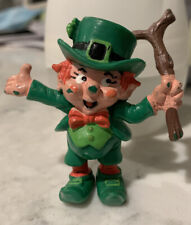 1980 Vintage W. Berrie Lucky Leprechaun St. Patrick's Day Irish Pvc Figure