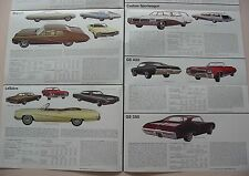 1968 Buick Broadsheet Brochure