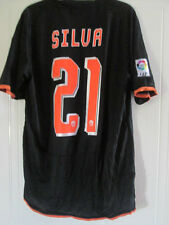 Valencia 2008-2009 Silva Away Football Shirt Size Small /39038
