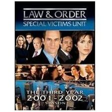 """Law & Order: Special Victims Unit:Third Year (DVD: 5-Disc Set)  """"NEW, SEALED"""""""