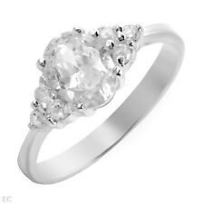 Lovely Ring W/2.25ctw Cubic zirconia Made in 925 Sterling Silver