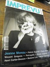 magazine imprévu n° 1  de décembre 2000 - jeanne moreau