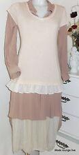 Ester Elenora Baumwoll Shirt Lisette Short rosa Rüschen pink 36 38 40 rüschen
