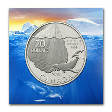 2013 1/4 oz Silver Canadian $20 Iceberg Coin - with CoA - SKU #77630