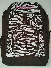 Pottery Barn PB Teen Brown White Zebra Gear Up Large Backpack name ASHLEY New
