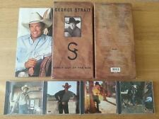 George Strait - Strait Out Of The Box (4 CD Box Set 2003) In great condition!