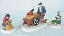 Harvest Seed Cart Heritage Dickens Village 5945-6 ~ Department 56~Nib