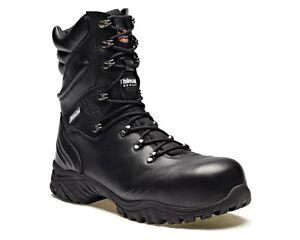 Dickies Mens Safety Boots Urban Hi Black Leather Steel Toe FC9507 UK6