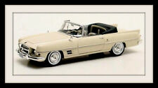 wonderful modelcar Chrysler DUAL Ghia Convertible 1957 - creamwhite - 1/43 -ltd.