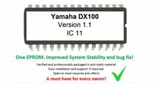 Yamaha dx-100 version 1.1 Firmware OS Update Upgrade EPROM for dx100 Synthétiseur