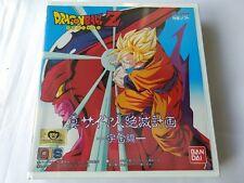 NEW DRAGON BALL Z SHIN SAIYAJIN ZETSUMETSU KEIKAKU for BANDAI PLAYDIA CD game-B-