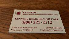 Vintage Kennedy Memorial Hospital Home Health Care Voorhees NJ  Fridge magnet