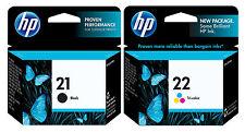 GENUINE NEW HP 21/22 (C9351AN/C9352AN) Ink Cartridge 2-Pack