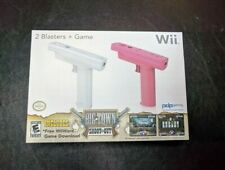 New Nintendo Wii Blasters Gun Remote Controller Shooting Games Attachment - Pink