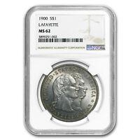 1900 Lafayette Dollar MS-62 NGC - SKU#104038