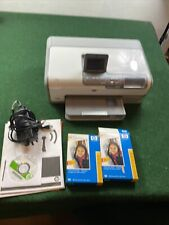 HP Photosmart D7360 Digital Photo Inkjet Printer - RARE Tested Works Fast Ship