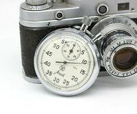 AGAT Vintage USSR Russian Soviet stop watch stopwatch Chronometer 16 jewels