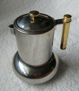 Principessa Lavazza Stovetop Espresso Maker with Manual Made in Italy