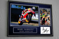 Marc Marquez  2018 Signed Tribute Framed Great Gift