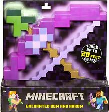 NEW Minecraft Enchanted Bow and Arrow Fires Up To 20 Feet (6m) SEALED