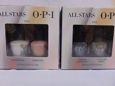 Opi All Stars Mini Duo - Alpine Snow & Bubble Bath + 1 More Pack - 2 Pack